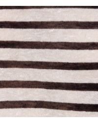 T By Alexander Wang - Black Striped Sweater - Lyst