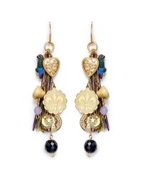 Venessa Arizaga | Multicolor 'the Jungle' Drop Earrings | Lyst