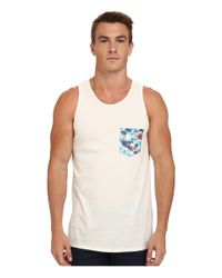 Rip Curl | White Pinto Custom Tank Top for Men | Lyst