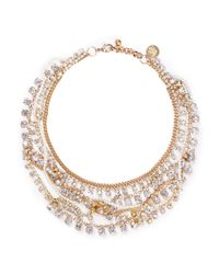 Venessa Arizaga | Metallic 'blinded By The Light' Necklace | Lyst