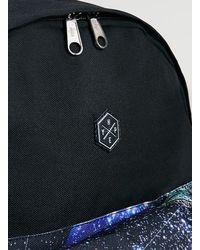 TOPMAN - Black Retro Space Pocket Backpack* for Men - Lyst