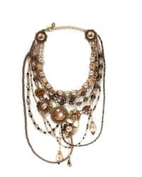 Erickson Beamon | Metallic Stratosphere Multi Tier Necklace | Lyst