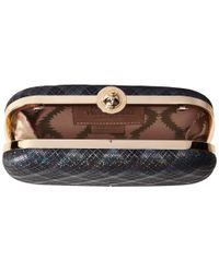 Vivienne Westwood | Blue Galles Plaid Glitter Medium Clutch | Lyst