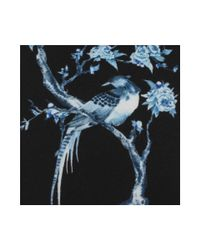 Alexander McQueen - Blue Porcelain Tree Tie for Men - Lyst