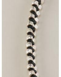 Paul Smith | Black Doubled Beaded Bracelet for Men | Lyst
