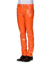 Moschino | Orange Casual Pants for Men | Lyst