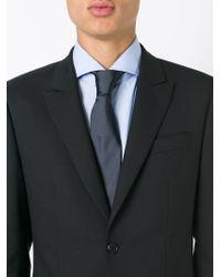 BOSS - Blue Silk Tie for Men - Lyst