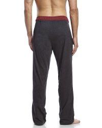 PUMA | Black Sleep Lounge Pants for Men | Lyst