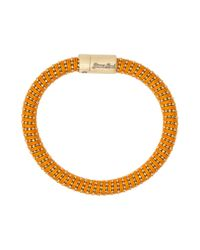 Carolina Bucci | Orange Yellow Gold Twister Bracelet | Lyst
