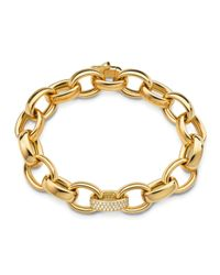 Monica Rich Kosann - Metallic Marilyn Extra Large Ultra Pave Diamond 18k Bracelet - Lyst