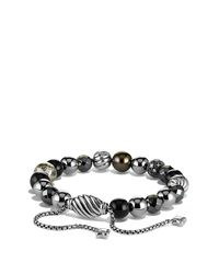 David Yurman | Metallic Spiritual Beads Bracelet | Lyst