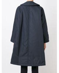 Comme des Garçons - Blue Oversized Raincoat - Lyst