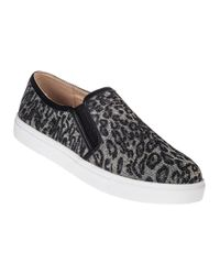 J/Slides - Black J Zee Slip-on Sneaker Pewter Leopard - Lyst
