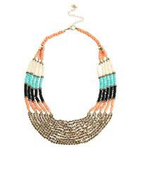 ALDO | Multicolor Thaledda Beaded Collar Necklace | Lyst