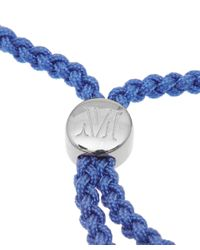 Monica Vinader | Cornflower Blue Havana Silver Friendship Bracelet | Lyst