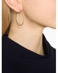 Fantasia Jewelry | Metallic Inside Outside Hoop Earrings | Lyst
