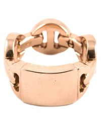 Hoorsenbuhs - Pink Bridal Plaque Ring - Lyst