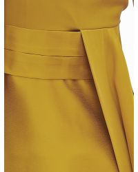 Banana Republic | Yellow Heritage Silk Asymmetrical Top | Lyst