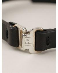 JvdF | Black Hand-painted Herringbone Bracelet for Men | Lyst