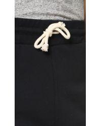 Scotch & Soda - Black Sweatpants for Men - Lyst