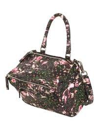 Givenchy   Multicolor Medium Pandora Flower Print Nappa Bag   Lyst