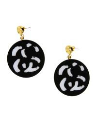 Stussy - Black Earrings - Lyst
