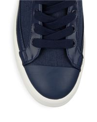 Polo Ralph Lauren | Blue Clarke Lace-up Sneakers for Men | Lyst