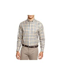 Brooks Brothers | Brown Blanket Plaid Button Down Shirt - Classic Fit for Men | Lyst