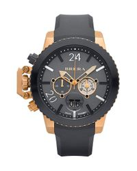 Brera Orologi - Gray Brera 'militare Ii' Round Chronograph Watch for Men - Lyst
