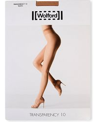 Wolford | Multicolor Transparency 10 Tights - For Women | Lyst