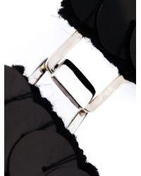 Marni   Black Scale Bib Necklace   Lyst
