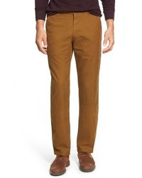 Apolis | Natural 'utility' Slim Fit Chinos for Men | Lyst