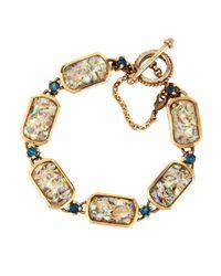 Stephen Dweck | Abalone & Blue Topaz Bracelet | Lyst