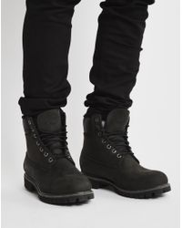 "Timberland | Heritage 6"" Warm Lined Boot Black for Men 