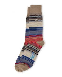 Original Penguin - Multicolor Thin Stripe Socks for Men - Lyst
