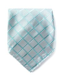 Giorgio Armani | Blue Woven Check Pocket Square for Men | Lyst