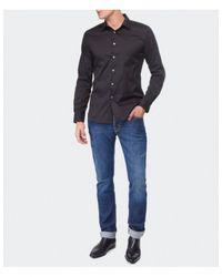PS by Paul Smith - Black Diamond Collar Shirt for Men - Lyst