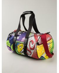 Moschino | Multicolor 'Drink ' Holdall for Men | Lyst