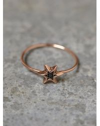 Free People | Pink Workhorse Womens Itzel Diamond Ring | Lyst