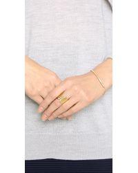 Vita Fede - Metallic Inverso Crystal Ring - Lyst
