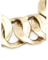 Vaubel - Metallic Chunky Oval Necklace - Lyst