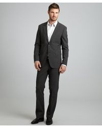 Theory - Gray Stretch Wool Xylo Js Godsford 2-button Suit  for Men - Lyst