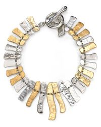 Robert Lee Morris | Metallic Wishbone Toggle Bracelet | Lyst