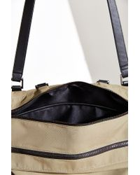 Silence + Noise - Natural Nylon Deconstructed Messenger Bag - Lyst