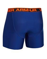 Under Armour | Blue Original Boxerjock 6 Inch Boxer Briefs for Men | Lyst