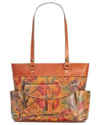 Patricia Nash | Orange Bolsena Tote | Lyst