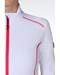 EA7 | White Technical Ski Fleece | Lyst