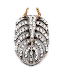 Lulu Frost | Metallic Silvertone Drift Earring | Lyst