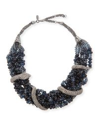 Alexis Bittar - Black Elements Wrapped Serpent Beaded Necklace - Lyst