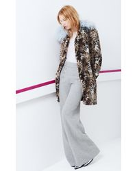 Rebecca Taylor | White Mesh & Fringe Pullover | Lyst